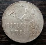(A22) MONEDA DIN ARGINT ROMANIA - 100.000 LEI 1946, REGELE MIHAI I
