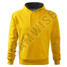 Hanorac de barbaţi Hooded Sweater (Culoare: Galben, Marime: XXL, Pentru: Barbati)