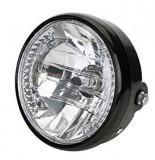 Far Rotund 180mm H4 + LED Moped Moto ATV Universala