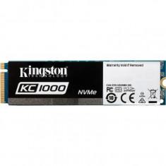 SSD Kingston SKC1000, 240 GB, M.2, PCI Express x4