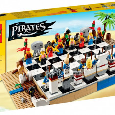 Set de sah pirati vs soldati - LEGO Exclusive Pirates Chess Set (40158 - MISB) - LEGO Pirates
