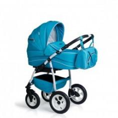Carucior 3 in 1 copii 0-3 Ani Germany Blue Deschis - Carucior copii 3 in 1 MyKids
