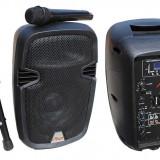 Incinta activa 10inch cu mp3 player SD/USB, radio si bluetooth.Alien, Subwoofer, 0-40W