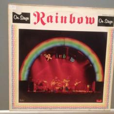 RAINBOW - ON STAGE - 2LP SET (1977/POLYDOR/RFG) - Vinil/Analog/Impecabil(NM-) - Muzica Rock Deutsche Grammophon