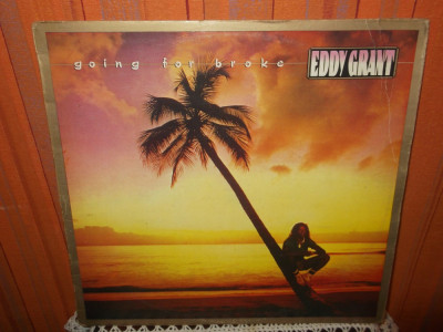 -Y-  Eddy Grant ‎– Going For Broke  DISC VINIL LP foto