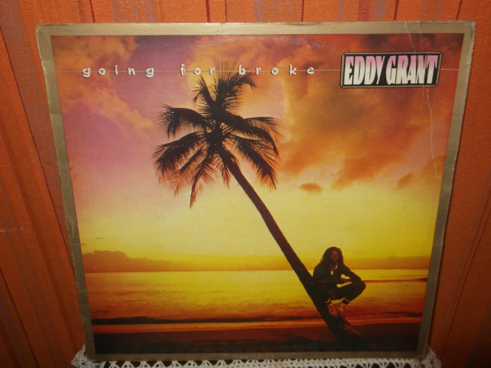 -Y-  Eddy Grant ‎– Going For Broke  DISC VINIL LP