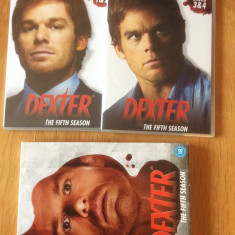 DEXTER - THE FIFTH SEASON   - FILM  DVD ORIGINAL ( COVER BOX )4 DISCURI