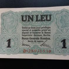 Bancnote romanesti 1leu bgr aunc - Bancnota romaneasca