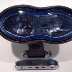 Far Dublu Oval Metalic - Custom Chopper - Far Moto