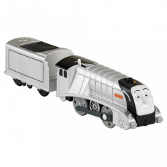 Trenulet Spencer Locomotiva Motorizata cu Vagon Thomas&Friends Track Master