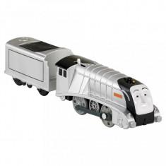 Trenulet Spencer Locomotiva Motorizata cu Vagon Thomas&Friends Track Master