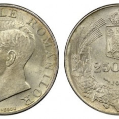 Romania 1941 - 250 lei NSD, aUNC - Moneda Romania