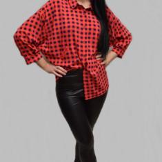 Pantalon skiny tip colant, culoare neagra, din piele ecologica fina (Culoare: NEGRU, Marime: 36) - Pantaloni dama