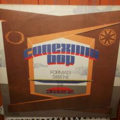 -Y-  CONEXIUNI BOP - FORMATII SIBIENE DE JAZZ    -DISC VINIL LP