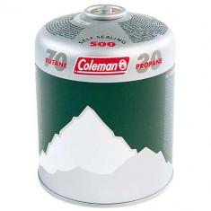 Cartus gaz cu valva Coleman® 500 - Aragaz/Arzator camping