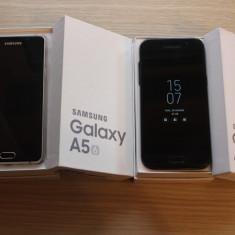 Samsung Galaxy A5 2017+Samsung Galaxy A5 2016 - Telefon Samsung, Negru, Neblocat, Single SIM