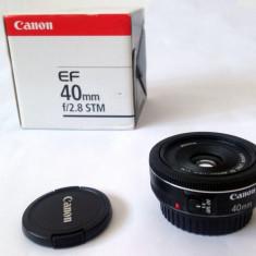 Obiectiv Canon Pancake 40mm f/2.8 - Obiectiv DSLR