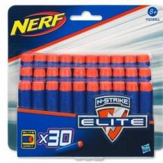 Munitie Nerf Nerf N-Strike Elite - 30 gloante de burete - Pistol de jucarie