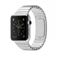 Apple Watch 42mm Stainless Steel Link Bracelet NOU, full, Garantie 12 luni - 2249r - Smartwatch Apple, Otel inoxidabil, Argintiu