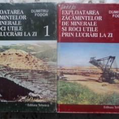Exploatarea Zacamintelor De Minerale Si Roci Utile Prin Lucra - Dumitru Fodor, 410257 - Carti Constructii