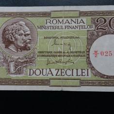 Bancnote romanesti 20lei mf 1947 xf - Bancnota romaneasca