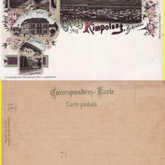 Campulung Moldovenesc (Suceava)  (Litho) - Litografie Bucovina, Necirculata, Printata