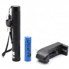 Laser verde reincarcabil - Laser pointer