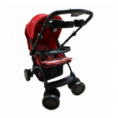 Carucior nou nascut Baby Care K 719-Rosu