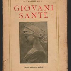 (C7992) GIOVANI SANTE DE P.T. MANTRICI M.S.C., TEXT IN LIMBA ITALIANA
