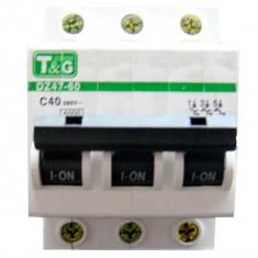 Siguranta automata Tripolara T&G 40A