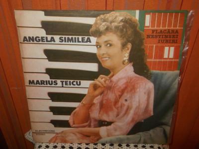 -Y- ANGELA SIMILEA / MARIUS TEICU - FLACARA NESTINSEI IUBIRI  DISC VINIL LP foto