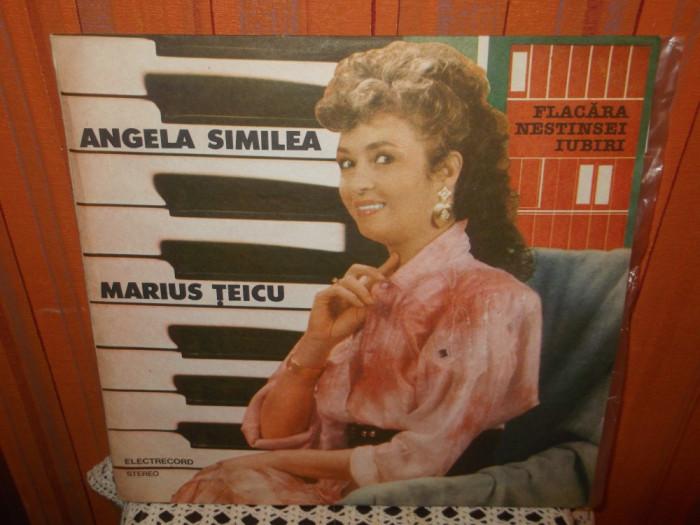 -Y- ANGELA SIMILEA / MARIUS TEICU - FLACARA NESTINSEI IUBIRI  DISC VINIL LP