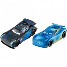 Set de masinute metalice Jackson Storm si Danny Swervez Disney Cars 3