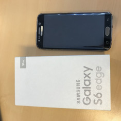 Vand Samsung S6 Edge Gold necodat - Telefon Samsung, Auriu, 32GB, Neblocat