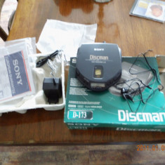 CD player portabil SONY