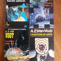 Lot 4 carti literatura SF - A. E. Van Vogt / R6P1F - Carte SF