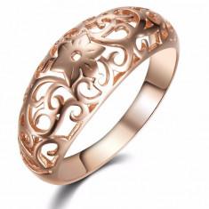 Inel placat gold rose (Marime: nr.6) - Inel placate cu aur