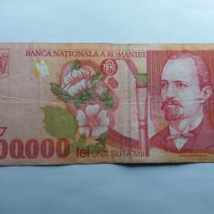 Romania 100000 lei 1998 - Bancnota romaneasca