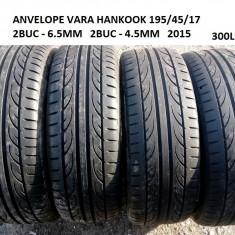 ANVELOPE VARA HANKOOK 195/45/17 2015 2BUC 6.5MM 2BUC-4.5MM, R17