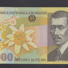 500000 lei 2000 UNC - Bancnota romaneasca