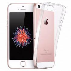 Husa slim transparenta compatibilia cu Apple Iphone 5 / 5S / 5SE ! - Husa Telefon Apple, iPhone 5/5S/SE, Silicon