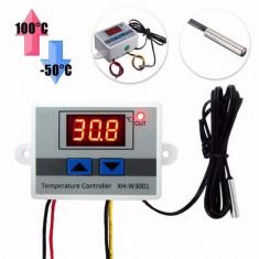 Termostat Digital Controler Temperatura - 50°C ~ 110°C cu alimentare la 220V - Termostat ambient