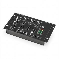 Auna TMX - 2211 3/2 canale DJ mixer, talkover party - Mixere DJ