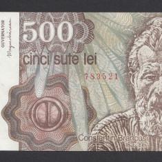 500 lei 1991 2 aUNC - Bancnota romaneasca