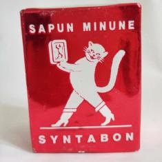 Sapun minune Syntabon Neca, vechi, colectie, anii 80-90, 230g, sapun universal