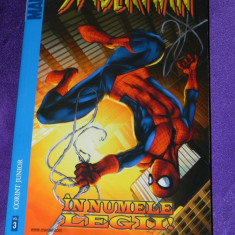 Spider-man nr 3 In numele legii marvel adventures - benzi desenate romana - Reviste benzi desenate