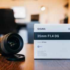 Sigma 35mm f/1.4 DG HSM Art - Canon EF - Obiectiv DSLR