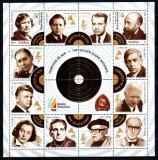 Romania 2013, LP 2004 a, Fonoteca de Aur, bloc de 2 + 14, MNH! LP 18,60 lei, Muzica, Nestampilat