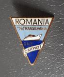 Insigna ONT Carpati - Romania - Turism - tema marina