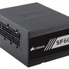 Sursa Corsair SF Series SF600, SFX 600W, full-modulara, 80 Plus Gold, Eff. 90%, Active PFC, ATX12V v2.4, 1x92mm fan, retail bulk - Sursa PC